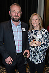 Gary and Julie Nisbet at the Greenbank 21 Year Reunion - Current and Past Parents, The Northern Club, Auckland, New Zealand,  Friday, August 04, 2017.Photo: David Rowland / One-Image.com for BW Media