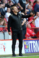 Forest Green Rovers manager Mark Cooper during Charlton Athletic vs Forest Green Rovers, Caraboa Cup Football at The Valley on 13th August 2019