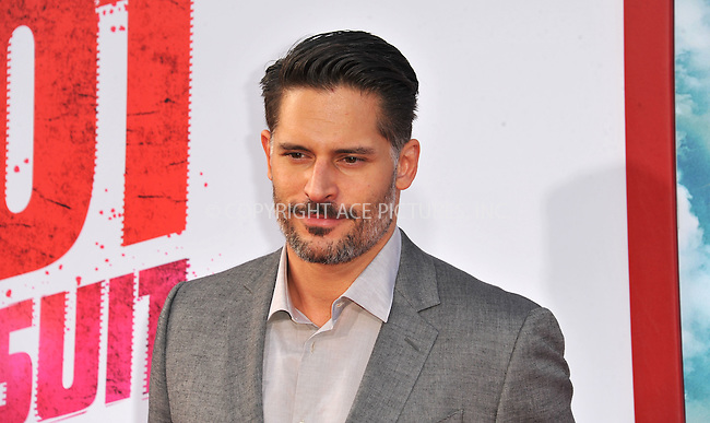 WWW.ACEPIXS.COM<br /> <br /> April 30 2015, LA<br /> <br /> Joe Manganiello arriving at the premiere of 'Hot Pursuit' at the TCL Chinese Theatre on April 30, 2015 in Hollywood, California. <br /> <br /> <br /> Please byline: Peter West/ACE Pictures<br /> <br /> ACE Pictures, Inc.<br /> www.acepixs.com<br /> Email: info@acepixs.com<br /> Tel: 646 769 0430