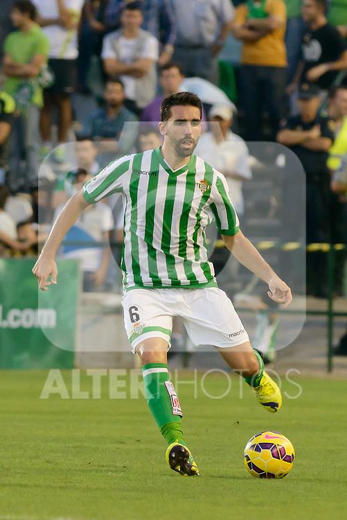 Jordi during the match between Real Betis and Recreativo de Huelva day 10 of the spanish Adelante League 2014-2015 014-2015 played at the Benito Villamarin stadium of Seville. (PHOTO: CARLOS BOUZA / BOUZA PRESS / ALTER PHOTOS)
