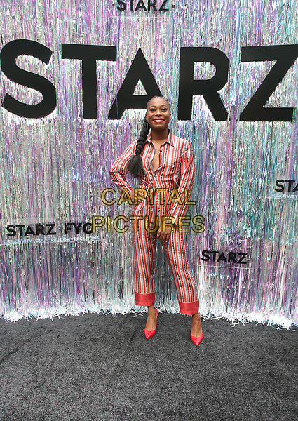 CENTURY CITY, CA - June 2: Stephanie Levi-John, at Starz FYC 2019 — Where Creativity, Culture and Conversations Collide at The Atrium At Westfield Century City in Century City, California on June 2, 2019. <br /> CAP/MPIFS<br /> ©MPIFS/Capital Pictures