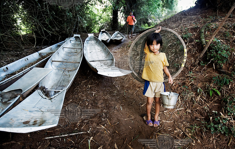 In the village of Dong Nai, people have recycled the covers of cluster bombs to make fishing boats. Local ingenuity has transformed the detritus of war into functional everyday items.