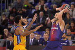 League ACB-ENDESA 2017/2018 - Game: 12.<br /> FC Barcelona Lassa vs Herbalife Gran Canaria: 77-88.<br /> DJ Seeley vs Pau Ribas.