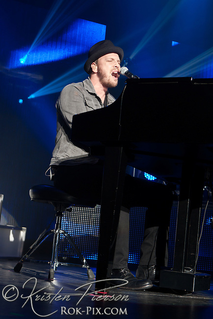 Gavin DeGraw performs at Blue Hills Bank Pavilion, Boston, MA