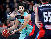 FC Barcelona Regal's Juan Carlos Navarro during Spanish Basketball King's Cup semifinal match.February 07,2013. (ALTERPHOTOS/Acero) /NortePhoto