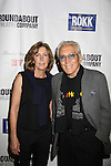 Singer Andy Williams & wife Debbie at Opening Night of Roundabout Theatre Company's Broadway production of The People in the Picture on April 28, 2011 at Studio 54 Theatre, New York City, New York. (Photo by Sue Coflin/Max Photos)