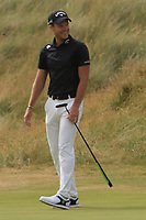 Danny Willett (ENG) on the 18th green during Round 4 of the Dubai Duty Free Irish Open at Ballyliffin Golf Club, Donegal on Sunday 8th July 2018.<br /> Picture:  Thos Caffrey / Golffile