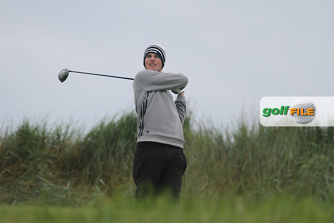 Quentin Carew (Edenderry) on the 3rd on Day 2 of the East of Ireland Amateur Open Golf Championship at Co.Louth Golf Club, Baltray...(Photo Jenny Matthews/www.golffile.ie)