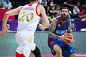 7th September 2017, Fenerbahce Arena, Istanbul, Turkey; FIBA Eurobasket Group D; Russia versus Great Britain; Small Forward Gareth Murray #11 of Great Britain looks to shoot during the match