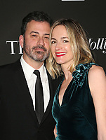 LOS ANGELES, CA - JANUARY 5: Jimmy Kimmel, Molly McNearney, at the J/P HRO &amp; Disaster Relief Gala hosted by Sean Penn at Wiltern Theater in Los Angeles, Caliornia on January 5, 2019.            <br /> CAP/MPI/FS<br /> &copy;FS/MPI/Capital Pictures