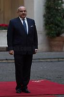 Salman Bin Hamad Bin Isa Al Khalifa (Crown Prince Of Bahrain).<br /> <br /> Rome, 03/02/2020. Today, Prince Salmān bin Ḥamad Āl Khalīfa, Deputy King, Crown Prince, first deputy prime minister of the Kingdom of Bahrain, and deputy supreme commander of the Bahrain Defense Force, visited Palazzo Chigi where he met with the Italian Prime Minister Giuseppe Conte.