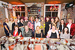 Friends from Listowel Community College enjoying a get together at the Stone House Restaurant on Friday