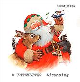 GIORDANO, CHRISTMAS SANTA, SNOWMAN, WEIHNACHTSMÄNNER, SCHNEEMÄNNER, PAPÁ NOEL, MUÑECOS DE NIEVE, paintings+++++,USGI2162,#X#