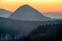 North Cascades Mountains from  Mount Rainier National Park, Washington