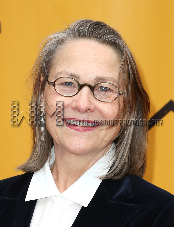 Cherry Jones attends the Broadway Opening Performance of  'Fun Home'  at  Circle in the Square Theatre on April 19, 2015 in New York City.