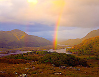 Rainbow at Ladies View Killarney National Park Republic of Ireland Sept. Killarney Lakes Viewpoint County Kerry 45h ICI