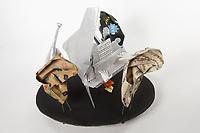 OrigamiUSA 2017 Holiday Tree at the American Museum of Natural History. Base 12 models:<br /> Grand Piano: Designer &ndash; Patricia Crawford, Folder &ndash; Rosalind Joyce<br /> Hands: Designer &ndash; Jeremy Shafer, Folder &ndash; Dan Cohen<br /> Base Fiddle: Designer &ndash; Daniel Porter, Folder &ndash; Rosalind Joyce<br /> Ears: Designer &ndash; Talo Kawasaki, Folder &ndash; Talo Kawasaki<br /> Flower with Leaf: Designer &ndash; traditional, Folder &ndash; Rosalind Joyce