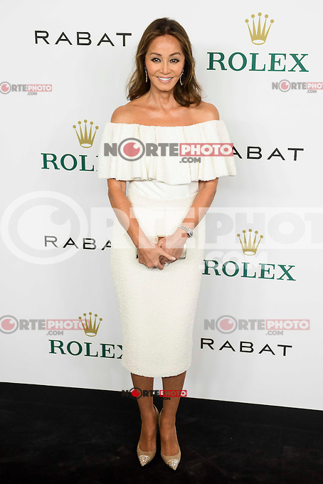Isabel Preysler attends to the photocall of Rabat and Rolex at Florida Park in Madrid. October 18, 2016. (ALTERPHOTOS/Borja B.Hojas) /NORTEPHOTO.COM
