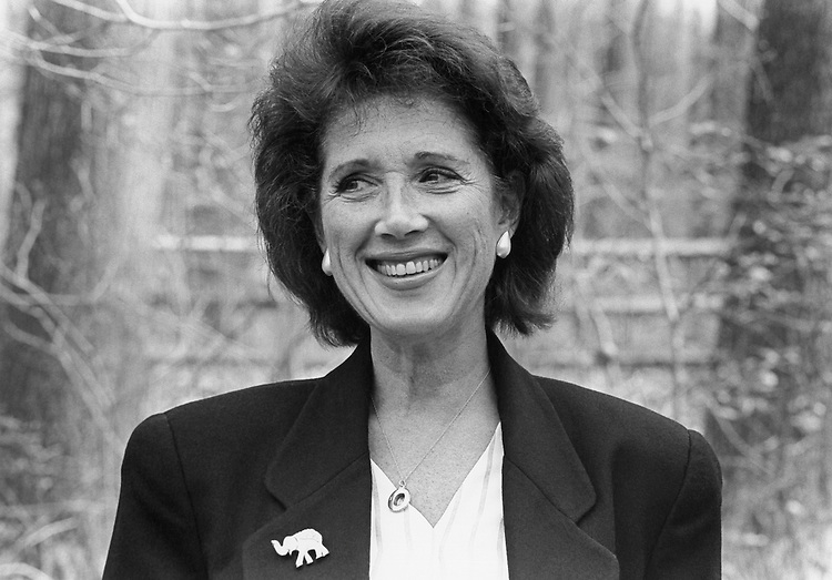 Ruthann Aron, Maryland Senate candidate in 1994 for the Democratic Party. April 17, 1994 (Photo by Laura Patterson/CQ Roll Call)