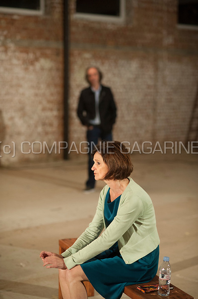 Theatre company De Theaterfactorij playing Gif from Lot Vekemans, directed by Marnick Bardyn (Herent, 15/09/2017)