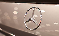 A Mercedes Benz is seen  at the 2013 New York International Auto Show in New York March 27, 2013. The 113th New York International Auto Show, which runs from March 29 to April 7, features 1,000 vehicles as well the latest in tech, safety and innovation.  .VIEWpress /Kena Betancur