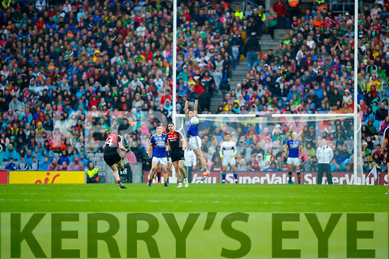 Kerry in action against Cillian O'Connor Mayo in the All Ireland Semi Final in Croke Park on Sunday.