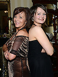 Aisling Duffy from Sizzlers and Kate Kerley from the Barber Shop enjoying a night off at the Ardee Traders awards night in Darver Castle. Photo:Colin Bell/pressphotos.ie