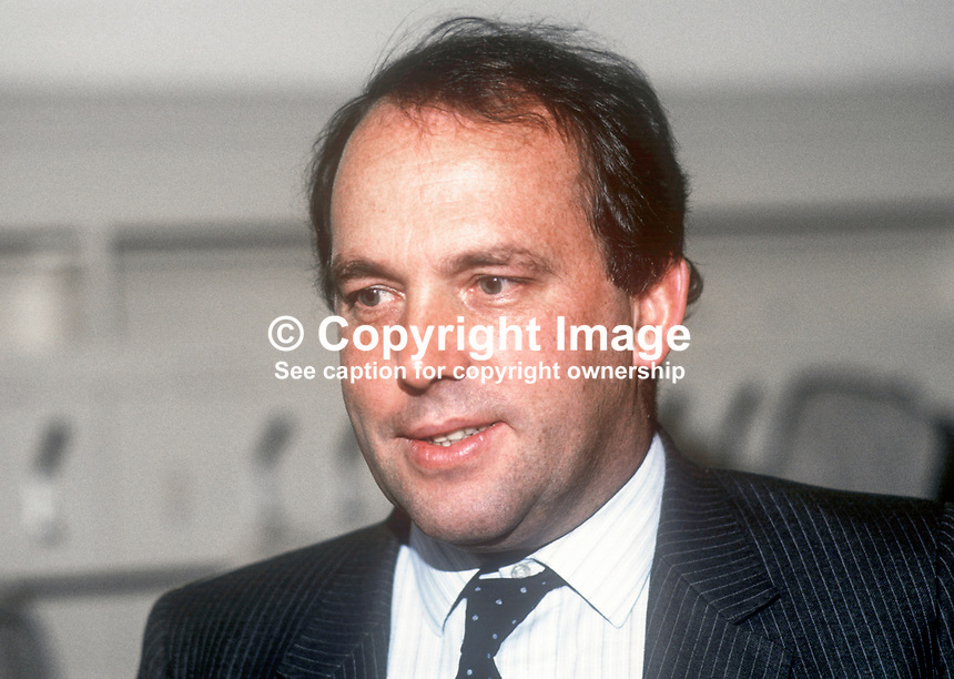 Peter Fraser, MP, Conservative Party, UK, Solicitor General for Scotland, May 1986, 19860501PF1<br />