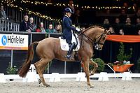ZUIDBROEK - Paardensport, IICH, Dressuur Grand Prix op muziek, Christa Larmoyeur op Super Horse Aston Martin 22-12-2018,