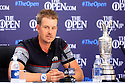Henrick Stenson of Sweden in media interview after the final round of the 145th Open Championship played at Royal Troon, Ayrshire, Scotland. 14 - 17 July 2016 (Picture Credit / Phil Inglis)
