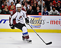GREG MAULDIN,  of the Colorado Avalanche in action  during the Avalanche game against the Chicago Blackhawks at the United Center in Chicago, IL.  The Colorado Avalanche beat the Chicago Blackhawks 4-3 in Chicago, Illinois on December 15, 2010....