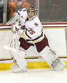 Parker Milner (BC - 35) - The Boston College Eagles defeated the visiting University of Massachusetts-Lowell River Hawks 5-3 (EN) on Saturday, January 22, 2011, at Conte Forum in Chestnut Hill, Massachusetts.