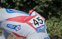 Ignatas Konovalovas' (LIT/FDJ) bidon<br /> <br /> Brussels Cycling Classic 2016
