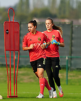 20200911 - TUBIZE , Belgium : Jody Vangheluwe pictured during a training session of the Belgian Women's National Team, Red Flames , on the 11th of September 2020 in Tubize. PHOTO SEVIL OKTEM| SPORTPIX.BE