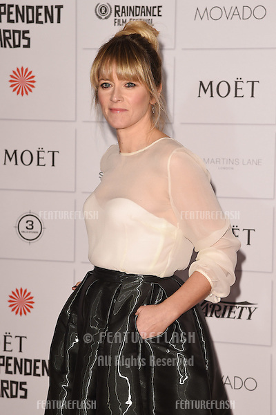 Edith Bowman arriving for the British Independent Film Awards 2014 at Old Billingsgate, London. 07/12/2014 Picture by: Steve Vas / Featureflash