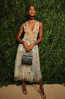 NEW YORK, NY - NOVEMBER 6: Melodie Monrose at the 14th Annual CFDA Vogue Fashion Fund Gala at Weylin in Brooklyn, New York City on November 6, 2017. Credit: John Palmer/MediaPunch