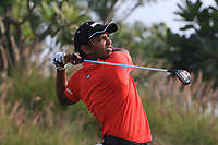 S.S.P Chawrasia (IND) in action on the 16th during Round 2 of the Hero Indian Open at the DLF Golf and Country Club on Friday 9th March 2018.<br /> Picture:  Thos Caffrey / www.golffile.ie<br /> <br /> All photo usage must carry mandatory copyright credit (&copy; Golffile | Thos Caffrey)