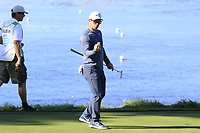 Paul Casey (ENG) at the 5th green during Sunday's Final Round of the 2018 AT&amp;T Pebble Beach Pro-Am, held on Pebble Beach Golf Course, Monterey,  California, USA. 11th February 2018.<br /> Picture: Eoin Clarke | Golffile<br /> <br /> <br /> All photos usage must carry mandatory copyright credit (&copy; Golffile | Eoin Clarke)