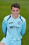 St Johnstone FC Season 2012-13 Photocall.Anthony Higgins.Picture by Graeme Hart..Copyright Perthshire Picture Agency.Tel: 01738 623350  Mobile: 07990 594431
