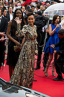"Sonia Rolland arrives for the screening of "" Jeune & Jolie "" directed Francois Ozon at the Palais of Festivals during the 66th Annual Cannes Film Festival in Cannes  .Cannes 18/5/2013 .Festival del Cinema di Cannes .Foto Panoramic / Insidefoto .ITALY ONLY"