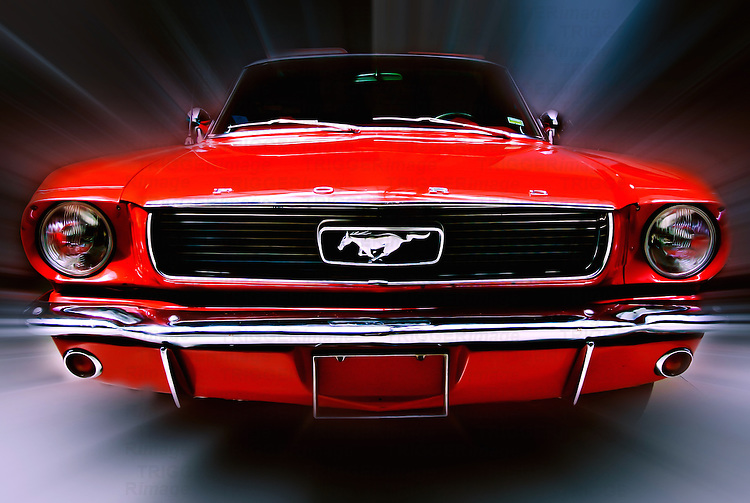 Ford Mustang classic car