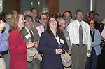 Newsday staff at the Celebration of the 35th Anniversary of Newsday Investigations Team held in Newsday Auditorium in Melville on Thursday September 26, 2002. (Newsday photo by Jim Peppler).