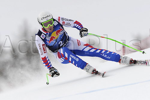 17 01 2012  FIS Ski downhill World Cup for men  in Kitzbuehel Austria Yannick Bertrand FRA