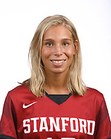 STANFORD, CA - August 16, 2019: Molly Redgrove on Field Hockey Photo Day.