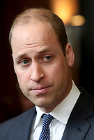 18 April 2017 - Prince William, Duke of Cambridge attends a reception and screening of the BBC documentary 'Mind over Marathon' at BBC Radio Theatre in London. The screening also launches the BBC season on mental health. Photo Credit: ALPR/AdMedia