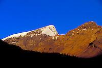 Mountain scenics near Athabaska Glacier, Jasper Nationbal Park, Alberta, Canada.