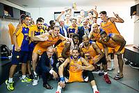 Herbalife Gran Canaria champions of the Supercopa of Liga Endesa 2016-2017 at Fernando Buesa Arena in Vitoria. September 24, Spain. 2016. (ALTERPHOTOS/BorjaB.Hojas) NORTEPHOTO.COM