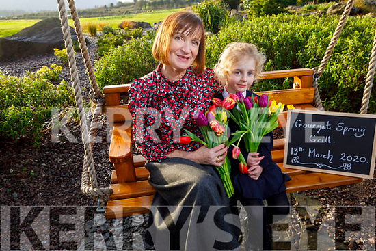 Sadie O'Donovan and Mary Connelly (Principal) at the launch of the Gourmet Spring Grill in the Ballygarry House Hotel on Friday,  which is a fundraiser for Hugh's House and is going ahead on the 13th March 2020 in the Ballygarry House Hotel. <br /> <br /> (The event will be held on Friday, March 13th in the Ballygarry House Hotel and is a fundraiser for theHugh's House charity which works with both Temple Street and The Rotunda hospitals, providing accommodation for the families of sick children.<br /> The Caherleaheen NS Parents Association's aim to raise funds for Hugh's House in support of parents Jenny Pye and Alex O'Donovan who are parents to Jake, who is in Temple Street for the last year and his big sister Sadie is in senior infants in Caherleaheen NS.)