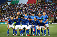 Italy team line up <br /> Bologna 19/06/2019 Stadio Renato Dall'Ara  <br /> Football UEFA Under 21 Championship Italy 2019<br /> Group Stage - Final Tournament Group A<br /> Italy - Poland <br /> Photo Cesare Purini / Insidefoto