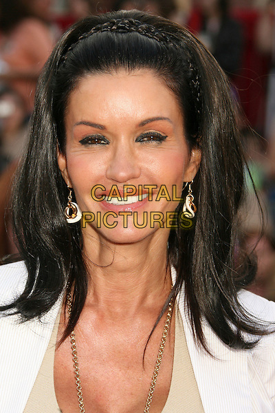 "JANICE DICKINSON .""Pirates Of The Caribbean: At World's End"" World Premiere held at Disneyland, Anaheim, California, USA,.May 19th, 007.3 headshot portrait alice band eyeliner earrings .CAP/ADM/RE.©Russ Elliot/AdMedia/Capital Pictures"